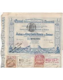 Cie Universelle du  Canal Interocéanique de Panama