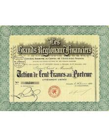 Les Grands Régionaux Financiers (Presse)