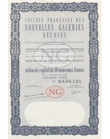 Sté des Nouvelles Galeries Réunies (Sté Française des Grands Bazars et Nouvelles Galeries Réunies)