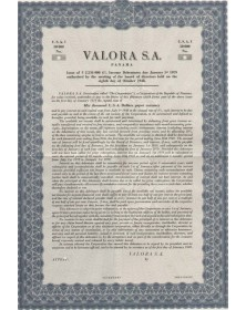 VALORA S.A.