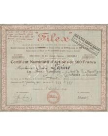 Filex, Manufacture de Gants de Tissus de Grenoble