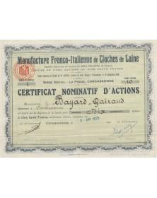 Manufacture Franco-Italienne de Cloches de Laine