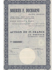 Soieries F. Ducharne