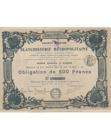 S.A. de la Blanchisserie Métropolitaine