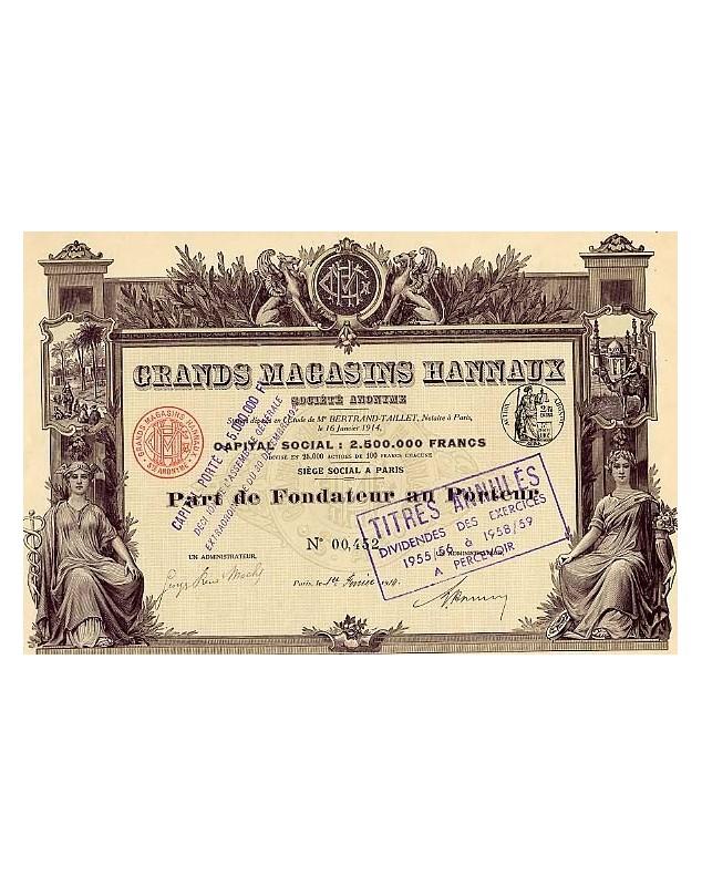 Grands Magasins Hannaux