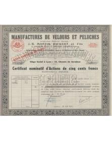 Manufactures de Velours et Peluches