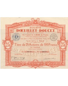 Doeuillet-Doucet Co.(Fashion)