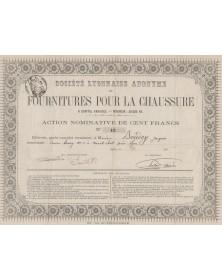 Sté Lyonnaise Anonyme de Fournitures pour la Chaussure
