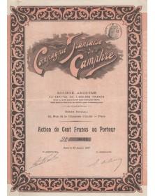 Cie Française du Camphre