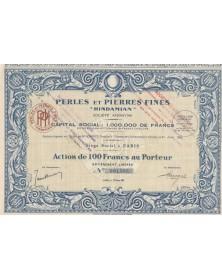 "Perles et Pierres Fines ""Hindamian"""