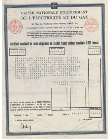 Caisse Nationale d'Equipement  de l'Electricité et du Gaz