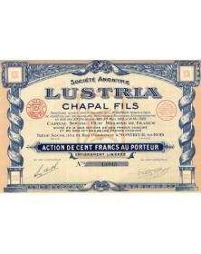 S.A. Lustria, Chapal Fils