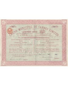 Casino Municipal de Cannes Ltd