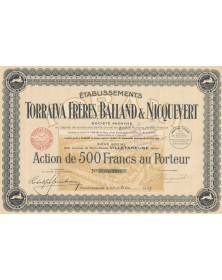 Ets Torralva Frères, Balland & Nicquevert