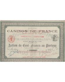 Sté des Casinos de France, Casino-Jardin de Vichy
