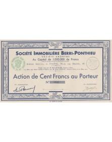 Sté Immobilière Berri-Ponthieu
