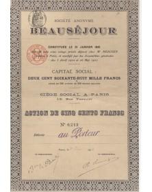 S.A. Beauséjour