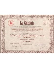 Sté Le Gaulois