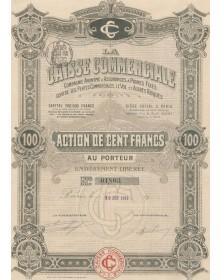 La Caisse Commerciale, Cie d'Assurances