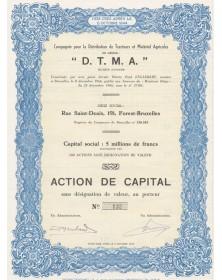 Cie pour la Distribution de Tracteurs et Matériels Agricoles (DTMA)