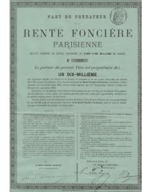 Rente Foncière Parisienne