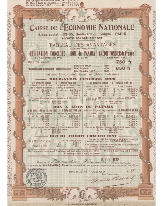 Caisse de l'Economie Nationale