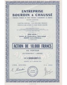 Entreprise Bourdin & Chaussé (Travaux Publics et Travaux concernant la Route)