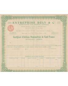 Entreprise Soly & Cie, Fondations sur Pilotis Simplex