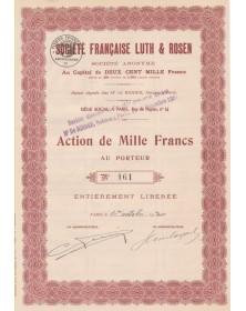 Sté Française Luth & Rosen