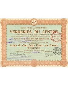 S.A. des Verreries du Centre