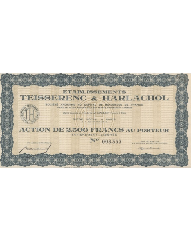 Ets Teissenrenc & Harlachol (Textile)