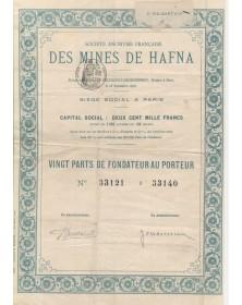 Sté Française des Mines de Hafna (Algeria)