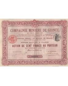Cie Minière de Guinée