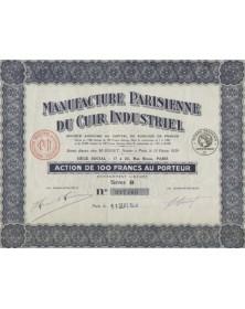Manufacture Parisienne du Cuir Industriel