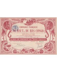 Cie Française du Haut & Bas Congo