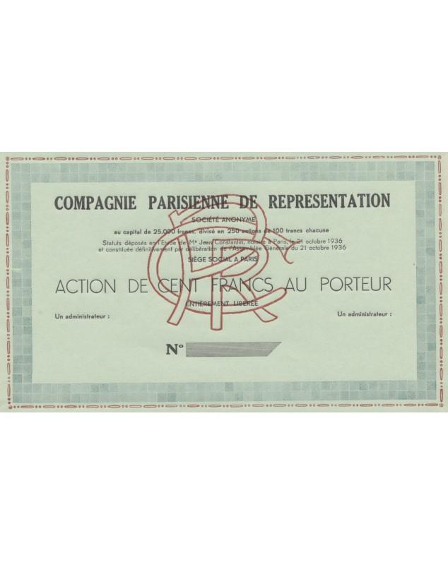 Cie Parisienne de Représentation