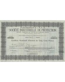 Ets SIPRO Sté Industrielle de Protection