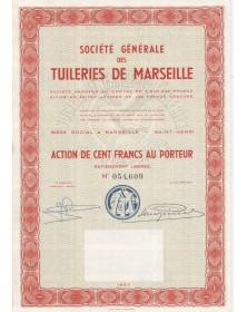 Sté Générale des Tuileries de Marseille