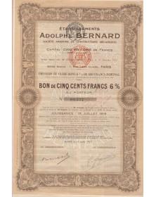 Ets Adolphe Bernard, S.A. de Constructions Mécaniques