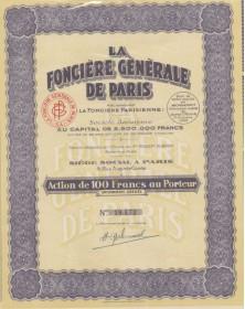La Foncière Générale de Paris
