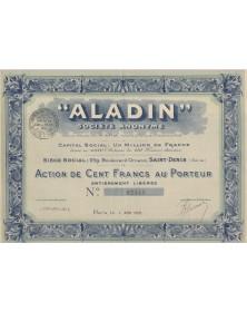 """""""Aladin"""" S.A."""