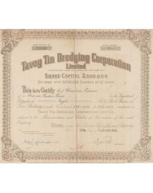 Tavoy Tin Dredging Corporation