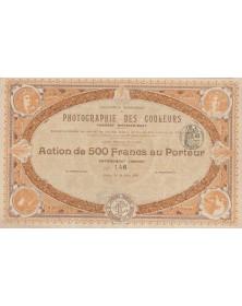 Cie Française de Photographie des Couleurs - Procédé Mathieu-Dery