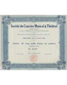 S.A. du Courrier Musical et Théâtral