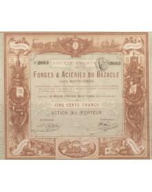 Forges & Ateliers Du Bazacle - Procédés Martin-Siemens