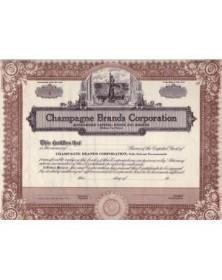 Lot of American Bonds of Champagne: Heidsieck, Mumm, Pommery....