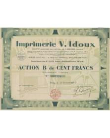 Imprimerie V. Idoux Nancy