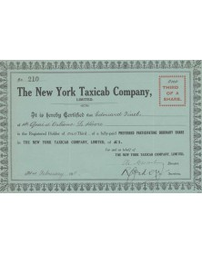 The New York Taxicab Co. Ltd.