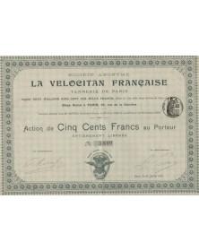 La Velocitan Française S.A