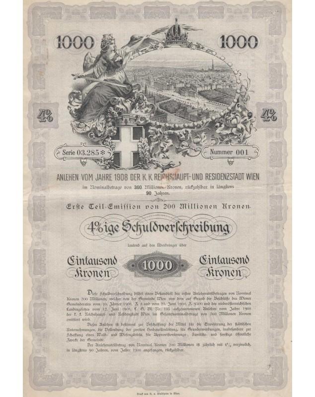 K.K. Reichhauptt-und Residenzstadt Wien